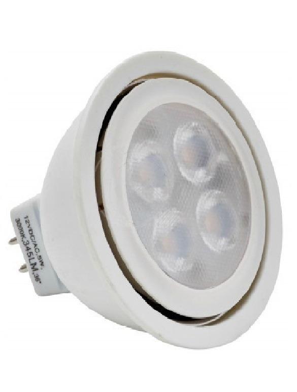 led spot gu 5 3 mr16 12v 5w 5000k light. Black Bedroom Furniture Sets. Home Design Ideas