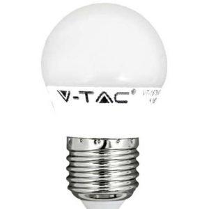 LED ΛΑΜΠΑ E27 V-TAC G45