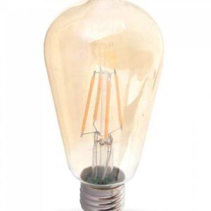 LED Λάμπα E27 Filament Διακοσμητική V-TAC ST64