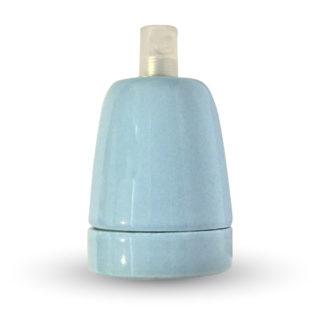 Ντουί E27 Πορσελάνη Γαλάζιο V-TAC