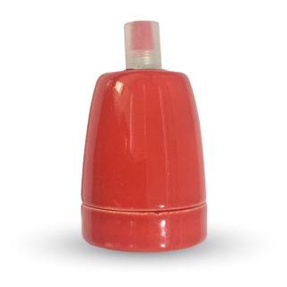 Ντουί E27 Πορσελάνη Κόκκινο V-TAC