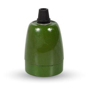 Ντουί E27 Πορσελάνη Πράσνο V-TAC
