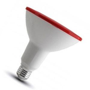 LED ΛΑΜΠΑ E27 PAR 38 ΚΟΚΚΙΝΟ ΑΔΙΑΒΡΟΧΗ IP65 V-TAC RED