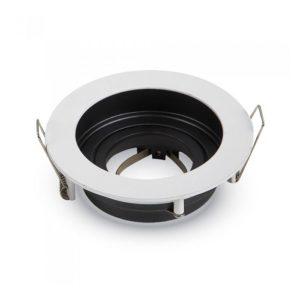 Βάση Σποτ GU10 - MR16 V-TAC Χωνευτή Στρογγυλή Λευκή ... c346607da40