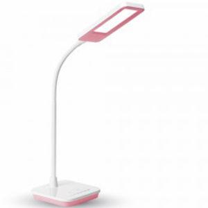 Επιτραπέζιο Φωτιστικό Γραφείου LED 7W V-TAC Ροζ Dimmable Ψυχρό Λευκό 5000K