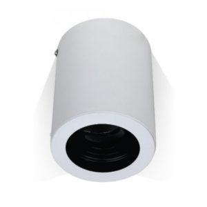 Φωτιστικό - Βάση Σποτ GU10 V-TAC Εξωτερική Στρογγυλή Λευκή