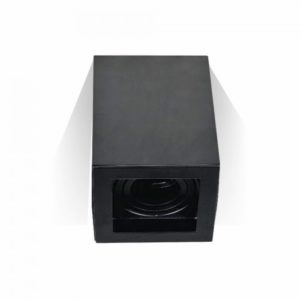 Φωτιστικό - Βάση Σποτ GU10 V-TAC Εξωτερική Τετράγωνη Μαύρη