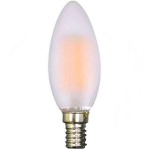 LED Λάμπα E14 4W Filament V-TAC Frosted Cover