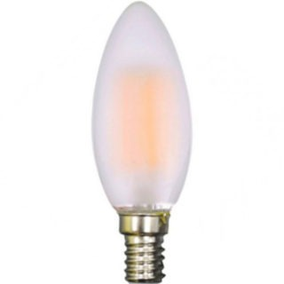 LED Λάμπα E14 4W Filament V-TAC Frosted Cover
