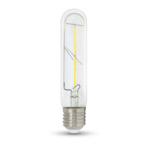 LED Λάμπα E27 T30 2W Filament V-TAC Θερμό Λευκό 2700K