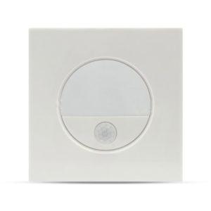 LED SPOT Επιτοίχιο για Σκαλοπάτια 3W V-TAC με Αισθητήρα Λευκό Τετράγωνο Φυσικό Λευκό 4500K