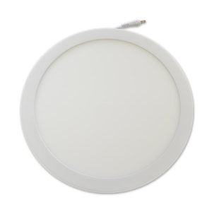 LED Πάνελ Στρογγυλό 12W V-TAC Με Driver Θερμό Λευκό 3000K