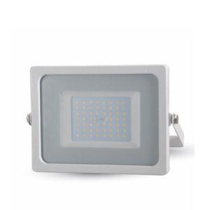 LED Προβολέας 50W V-TAC Λευκός Αδιάβροχος IP65 SMD Θερμό Λευκό 3000K 5825-5826-5827