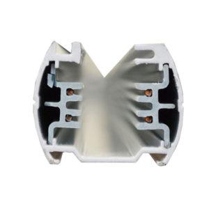 Τριφασική Ράγα 4 Αγωγών 1m Αλουμίνιο Λευκή V-TAC - 9945