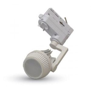Τριφασικό Φωτιστικό Ράγας για LED GU10 Άσπρο Περιστρεφόμενο V-TAC - 3544