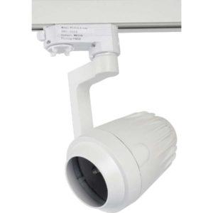 Τριφασικό Φωτιστικό Ράγας για LED PAR20 Άσπρο Περιστρεφόμενο V-TAC - 3554