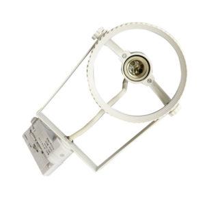Τριφασικό Φωτιστικό Ράγας για LED PAR38 Άσπρο Περιστρεφόμενο V-TAC - 3570
