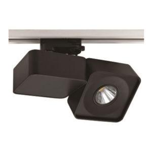 LED Φωτιστικό Ράγας 23W V-TAC Μαύρο Ψυχρό Λευκό 6000K - 1205