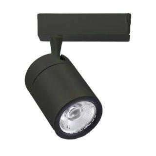 LED Φωτιστικό Ράγας 35W V-TAC Μαύρο Περιστρεφόμενο Ψυχρό Λευκό 6000K - 1287