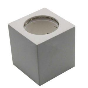 Γύψινη Βάση Σποτ GU10 - MR16 V-TAC Εξωτερική Τετράγωνη Λευκή - 3664
