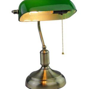 Επιτραπέζιο Φωτιστικό Γραφείου Vintage E27 V-TAC Μπρονζέ - Πράσινο - 3912