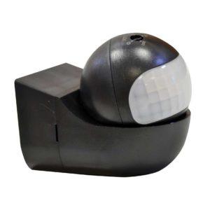Επιτοίχιος Ανιχνευτής Κίνησης Υπερύθρων με Κινούμενη Κεφαλή Ρυθμιζόμενος Μαύρος V-TAC - 5089