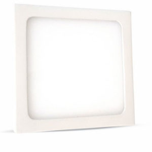 LED Πάνελ Τετράγωνο Επιφανειακό 6W V-TAC 9 x 9cm Φυσικό Λευκό 4500K - 4908