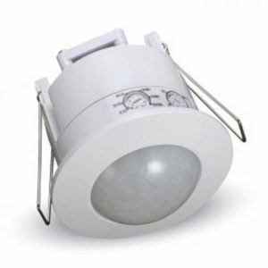 Ανιχνευτής Κίνησης Οροφής Υπερύθρων με Δυνατότητα Παράκαμψης Αυτόματης Λειτουργίας Χωνευτός Λευκός V-TAC - 1356