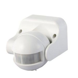 Επιτοίχιος Ανιχνευτής Κίνησης Υπερύθρων με Δυνατότητα Παράκαμψης Αυτόματης Λειτουργίας Λευκός V-TAC - 1354