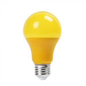 LED Λάμπα E27 A60 9W V-TAC Κίτρινη - 7342