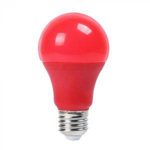 LED Λάμπα E27 A60 9W V-TAC Κόκκινη - 7341