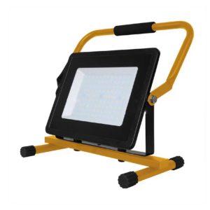 LED Φορητός Προβολέας με Βάση 100W V-TAC Μαύρος Αδιάβροχος IP65 SMD Φυσικό Λευκό 4000K - 5931