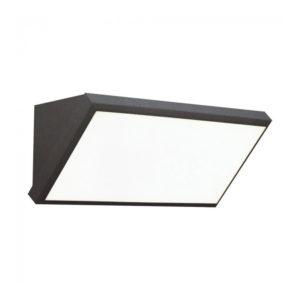 LED Φωτιστικό Απλίκα Γωνία 12W V-TAC Γκρι Αδιάβροχο IP65 Ψυχρό Λευκό 6400Κ - 8235