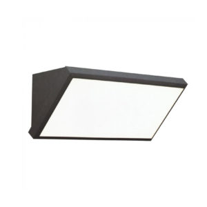 LED Φωτιστικό Απλίκα Γωνία 20W V-TAC Γκρι Αδιάβροχο IP65 Ψυχρό Λευκό 6400Κ - 8238