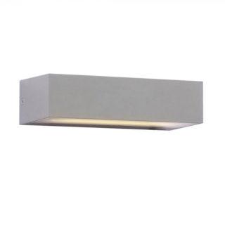 LED Φωτιστικό Απλίκα Up-Down 9W V-TAC Γκρι Αδιάβροχο IP65 Ψυχρό Λευκό 6400Κ - 8241