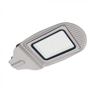 LED Φωτιστικό Δρόμου 100W V-TAC Γκρι Αδιάβροχο IP65 Φυσικό Λευκό 4000K - 5495