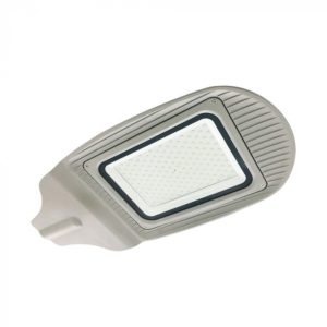 LED Φωτιστικό Δρόμου 150W V-TAC Γκρι Αδιάβροχο IP65 Φυσικό Λευκό 4000K - 5499