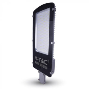 LED Φωτιστικό Δρόμου High Lumen 100W V-TAC Μαύρο-Γκρι Αδιάβροχο IP65 Ψυχρό Λευκό 6000K - 5478