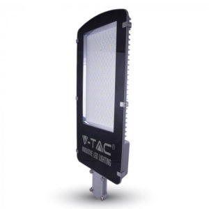 LED Φωτιστικό Δρόμου High Lumen 30W V-TAC Μαύρο-Γκρι Αδιάβροχο IP65 Φυσικό Λευκό 4500K - 5472