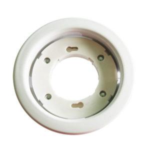 Βάση για Λάμπα Gx53 V-TAC Χωνευτή Στρογγυλή Λευκή - 3675