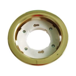 Βάση για Λάμπα Gx53 V-TAC Χωνευτή Στρογγυλή Χρυσή - 3676
