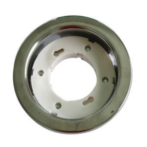 Βάση για Λάμπα Gx53 V-TAC Χωνευτή Στρογγυλή Χρώμιο - 3677