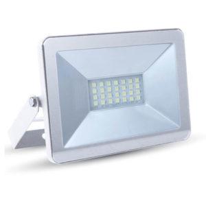 LED Προβολέας 20W V-TAC Λευκός Αδιάβροχος IP65 SMD Φυσικό Λευκό 4000K - 5950