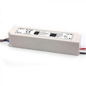 Τροφοδοτικό Slim για LED 100W 12V V-TAC Αδιάβροχο IP67 Πλαστικό - 3251