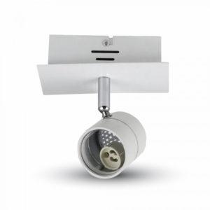 Φωτιστικό - Βάση Σποτ GU10 V-TAC Οροφής - Τοίχου Λευκή - 3617
