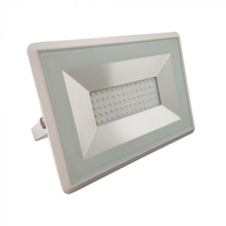 LED Προβολέας 50W V-TAC Λευκός Αδιάβροχος IP65 SMD Φυσικό Λευκό 4000K - 5962