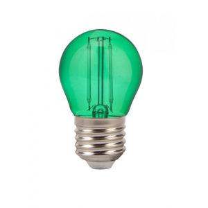 LED Λάμπα E27 G45 2W Filament V-TAC Samsung Chip Πράσινο - 7411