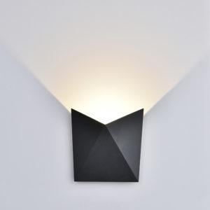 LED Φωτιστικό Τοίχου 5W V-TAC Γκρι Αδιάβροχο IP65 SMD Φυσικό Λευκό 4000Κ - 8285