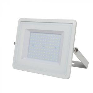 LED Προβολέας 100W V-TAC Samsung Chip Λευκός Αδιάβροχος IP65 Φυσικό Λευκό 4000K - 416