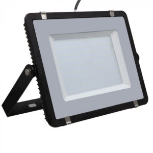 LED Προβολέας 200W V-TAC Samsung Chip Μαύρος Αδιάβροχος IP65 Φυσικό Λευκό 4000K - 418